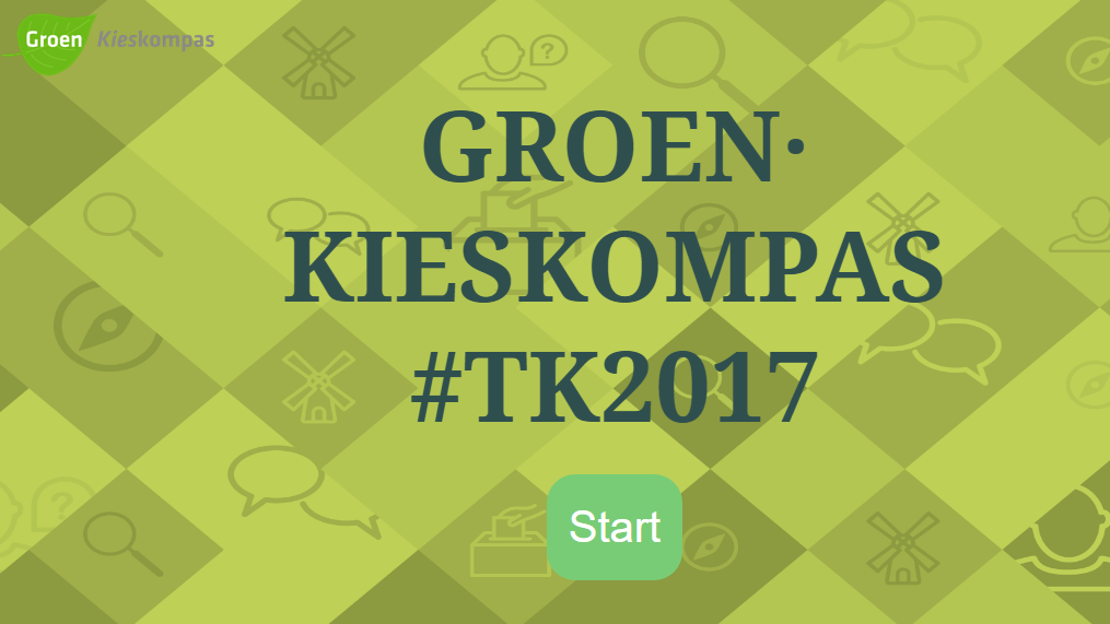 Groen Kieskompas website